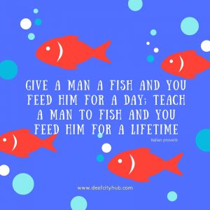 give a man a fish